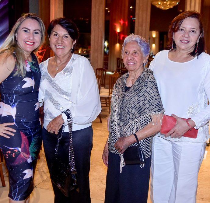 Yaci Mota Rocha, Maria Mirene Gòes, Maria Leonídia Góes E Joselídia Góes,