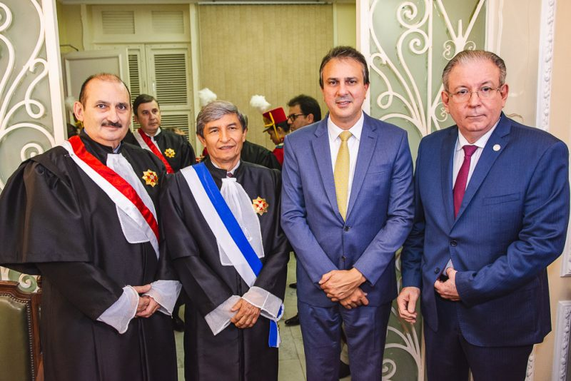 Zeze Gomes, Plauto Porto, Camilo Santana E Ricardo Cavalcante