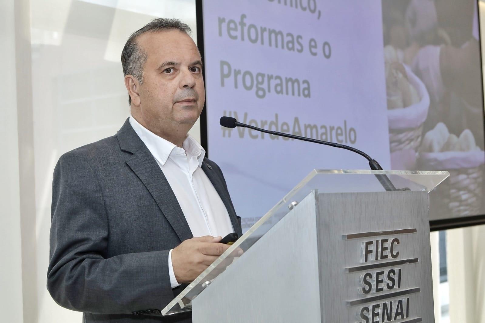 FIEC recebe Rogério Marinho para discutir economia do país e o Programa Verde Amarelo