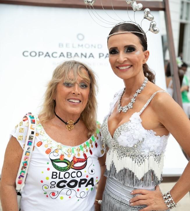 Copacabana Palace entra no clima de Carnaval