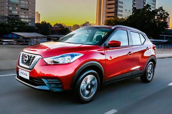 Nissan Kicks supera seu próprio recorde em vendas no último dezembro