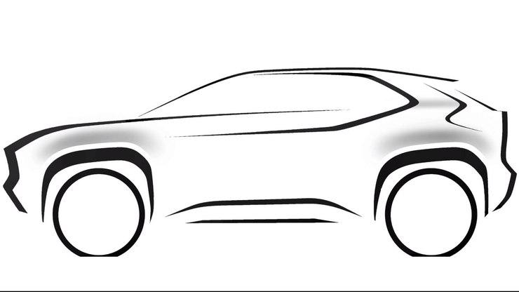 Toyota mostra esboço de seu novo SUV compacto