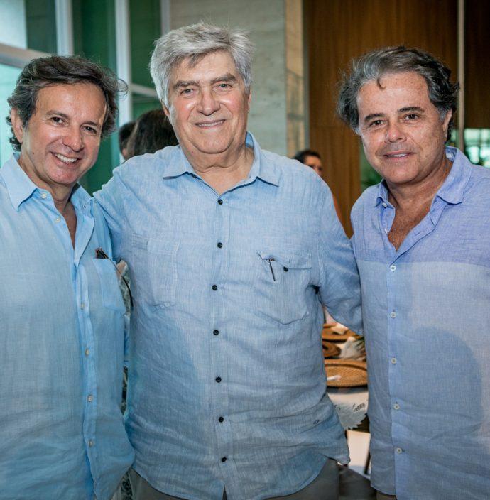 Aderaldo Silva, Amarilio Macedo E Ivan Bezerra