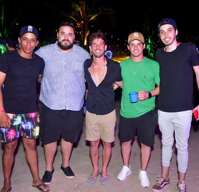 Alan Santos, Lucas Coelho, Pedro Campos, Cleiton Holanda, Lucas Farias
