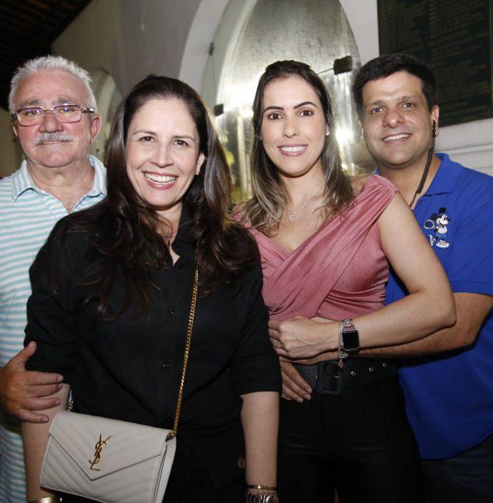 Alcimor E Fabiola Rocha, Valeschka Catonio E Duda Soares