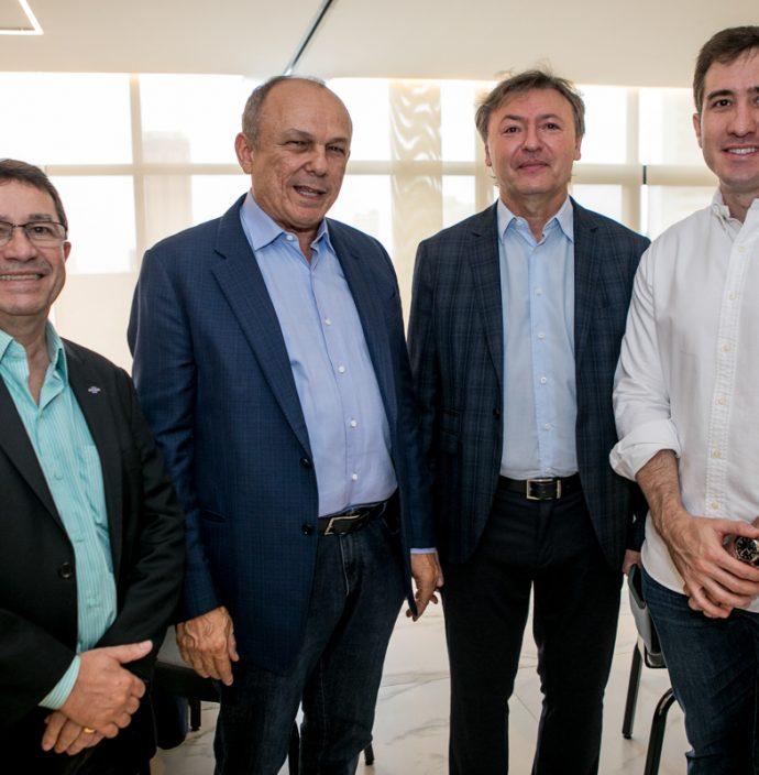 Alcir Porto, Honorio Pinheiro, Mauricio Filizola E Luis Fernando Bittencourt
