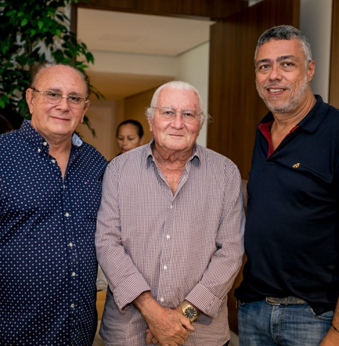 Aldenor Rodrigues, Chico Barreto E Ricardo Petral