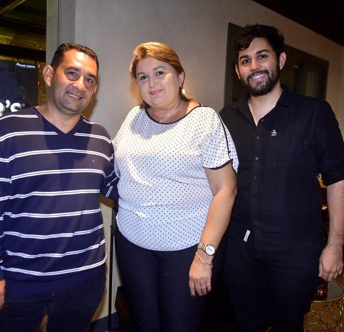 Alex Rabelo, Herbenia Lopes, Luan Rabelo