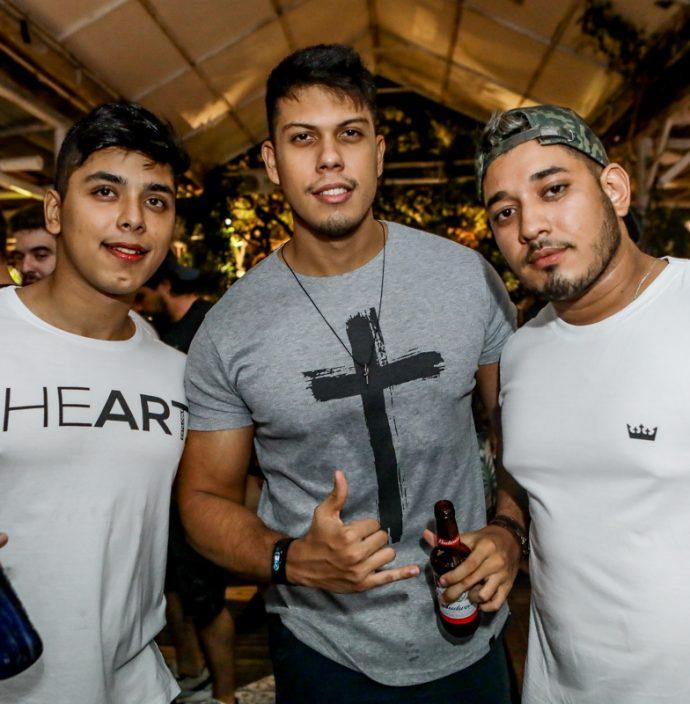 Alexander Carvalho, Marcos Eloy E Hugo Madeira