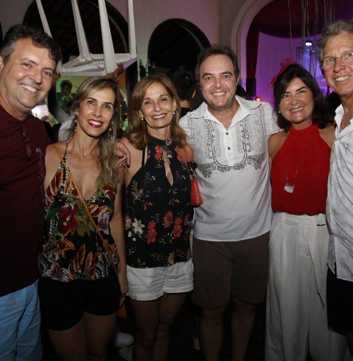 Alexandre Coelho, Liane E Monica Navarro, Franco Junior, Dominique E Guga Gomes