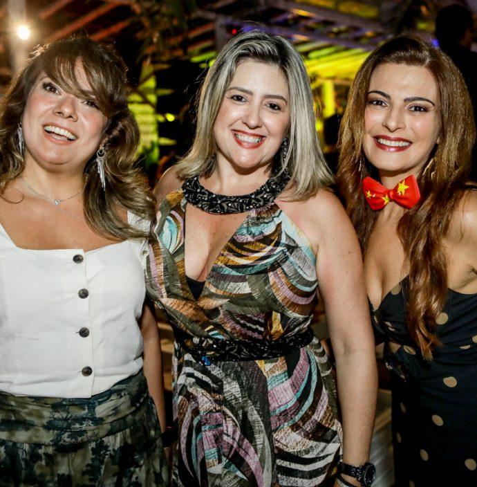 Aline Linhares, Cirlane Mota E Lilian Paz