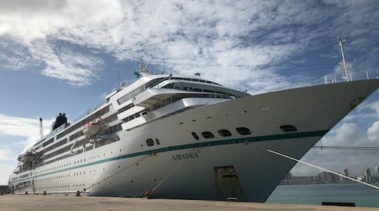 Primeiro navio do ano zarpa do Ceará para outros portos do País