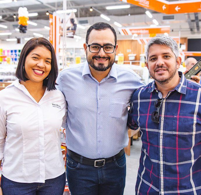 Ana Paula, Marcelo Guerreiro E Hugo Magalhães