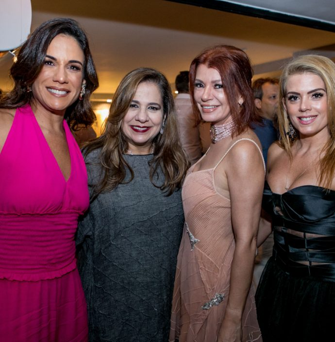 Ana Virginia Martins, Martinha Assunçao, Suzane Farias E Leticia Studart