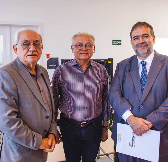 Ananias Magalhaes, Fabio Cavalcante E Hugo Leao