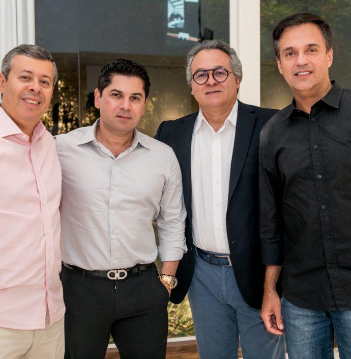 Anastacio Marinho, Pompeu Vasconcelos, George Leitao E Fernando Novais