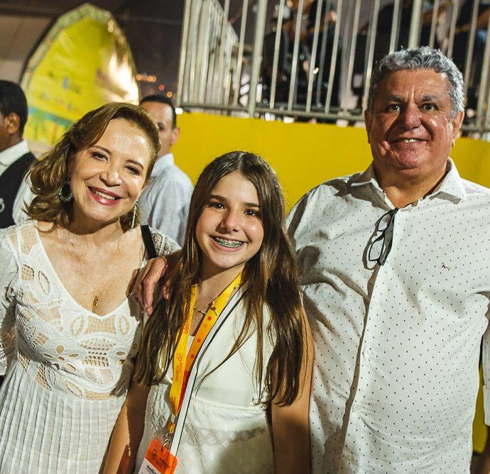 Angela Cunha, Roberta Bezerra E Cleber Cunha