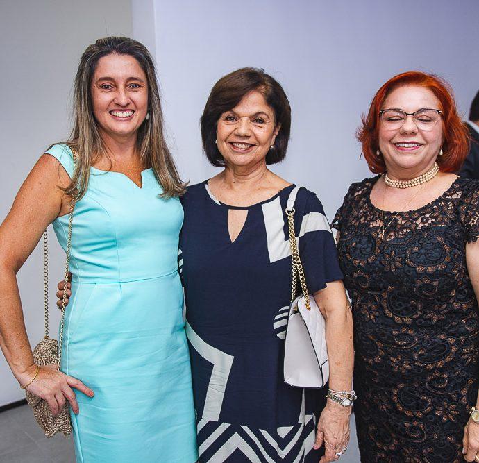 Angela Gondim, Candida Torres De Melo e Vanja Fontenele