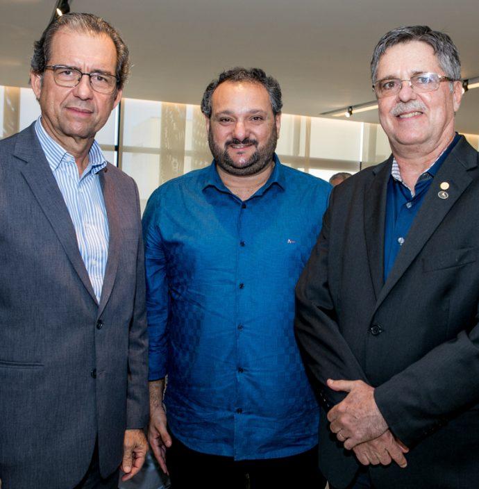 Aristarco Sobreira, Patriolino Dias E Carlos Gama