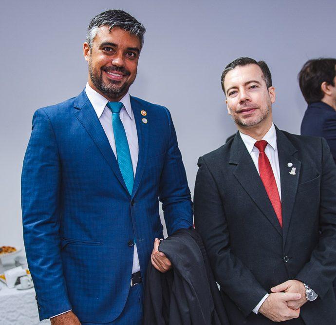 Aureliano Reboucas e Flavio Pinheiro