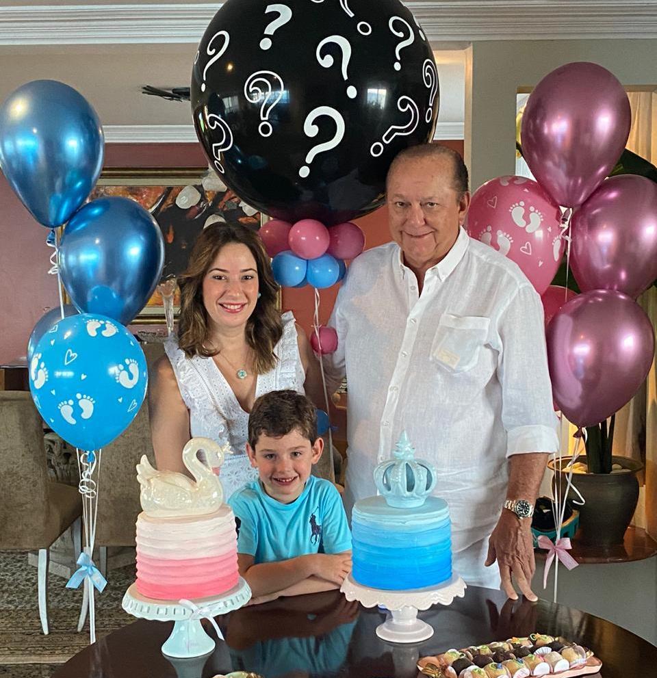Silvinha e Rafael Leal vão ganhar mais um herdeiro