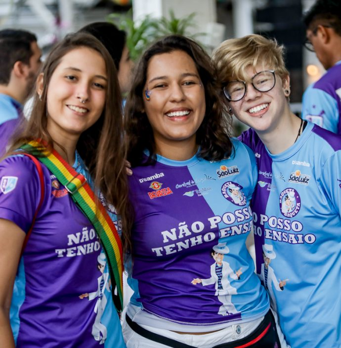 Beatriz Perassoli, Naomi Sato E Amanda Ferreira