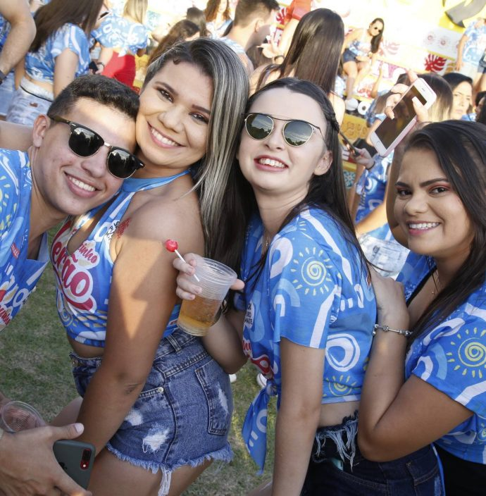 Breno Abreu, Leiliane Cavalcante, Natalia Freitas E Natalia Dias