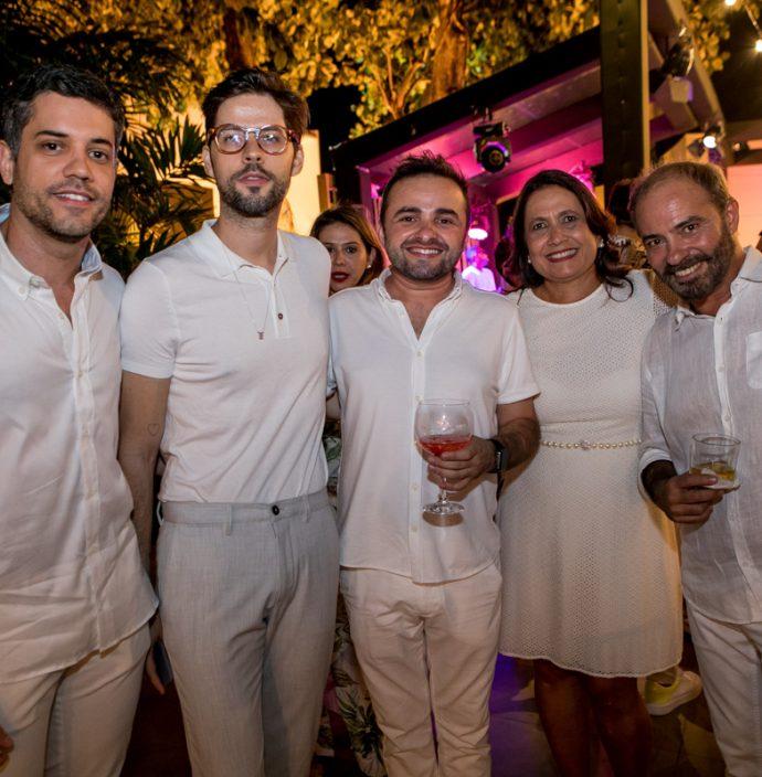 Bruno Frota, Marcos Carneiro, Ramiro Mendes, Andrea E Marcos Novais