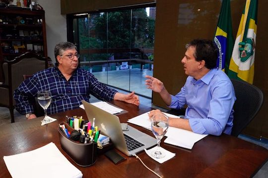 Camilo e Maia Júnior planejam a atração de novos investimentos