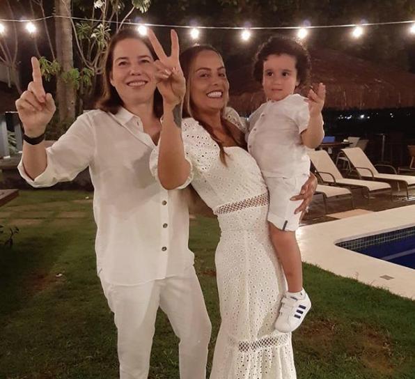 Denise Bezerra e Gil Santos de malas prontas para Salvador