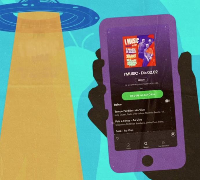 Iguatemi Fortaleza lança playlists do I'Music no Deezer e Spotify. Vem ouvir!