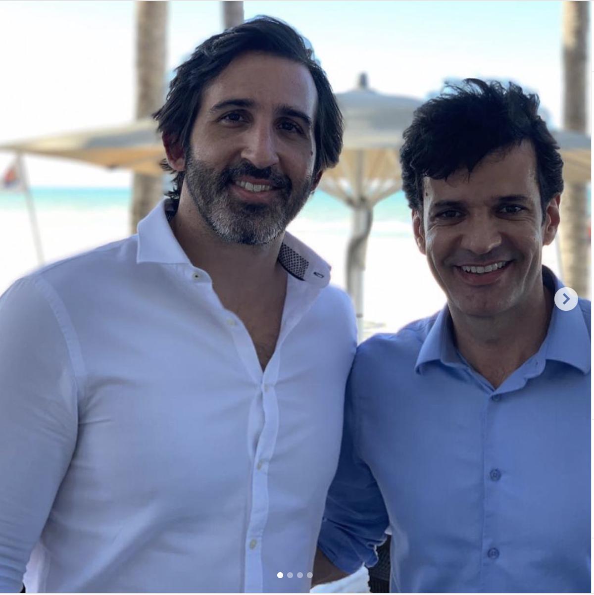 Lucas Fiúza acompanha o ministro do Turismo em visita à Rota das Emoções