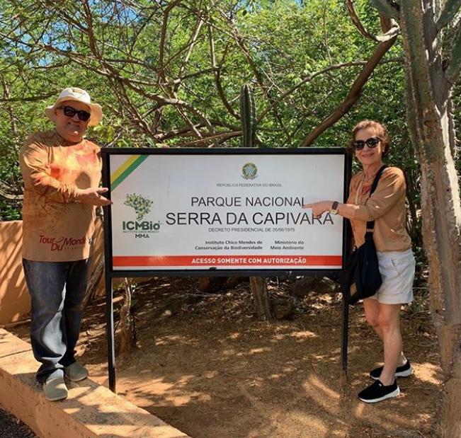 Lilia Quinderé pilota expedição ao Parque Nacional da Serra da Capivara