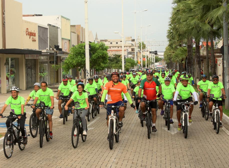 Passeio Ciclístico de Férias movimenta o último fim de semana de janeiro em Fortaleza