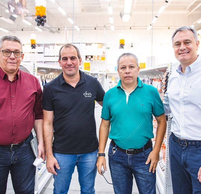 Carlos Henrique, Alexandre Michelin, Eduardo Borges E Augusto Lopes
