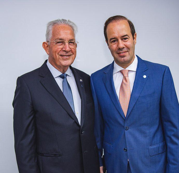 Carlos Prado e Cesar Ribeiro