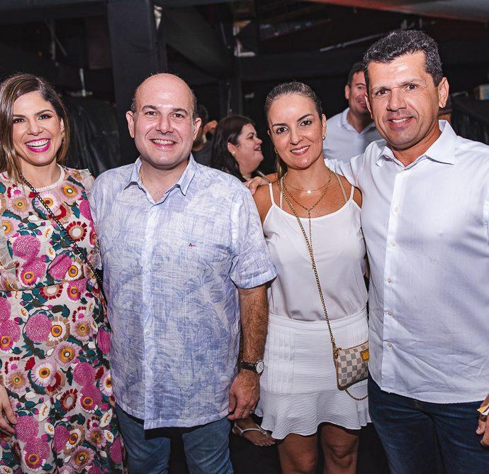 Carol Bezerrra, Roberto Claudio E Raquel E Erick Vasconcelos