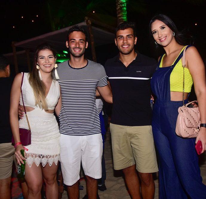 Caroline Medeiro, Marcelo Montenegro, Yago Aragão, Michele Weyne