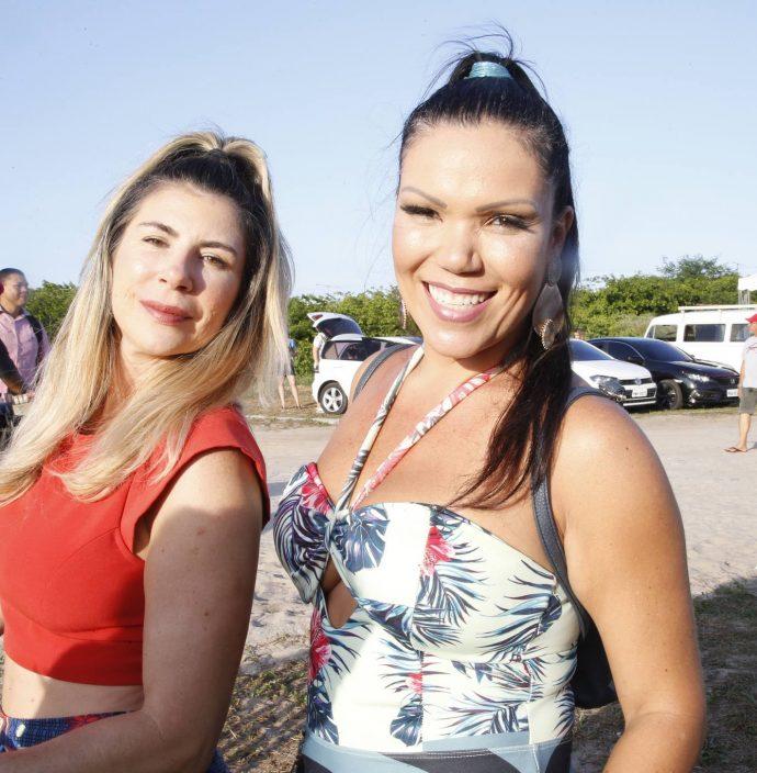 Cassia Abrantes E Carla Brazao