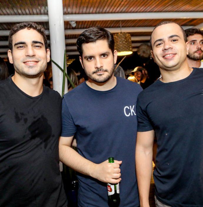 Cassio Albuquerque, Cleber Braga E Otavio Neto