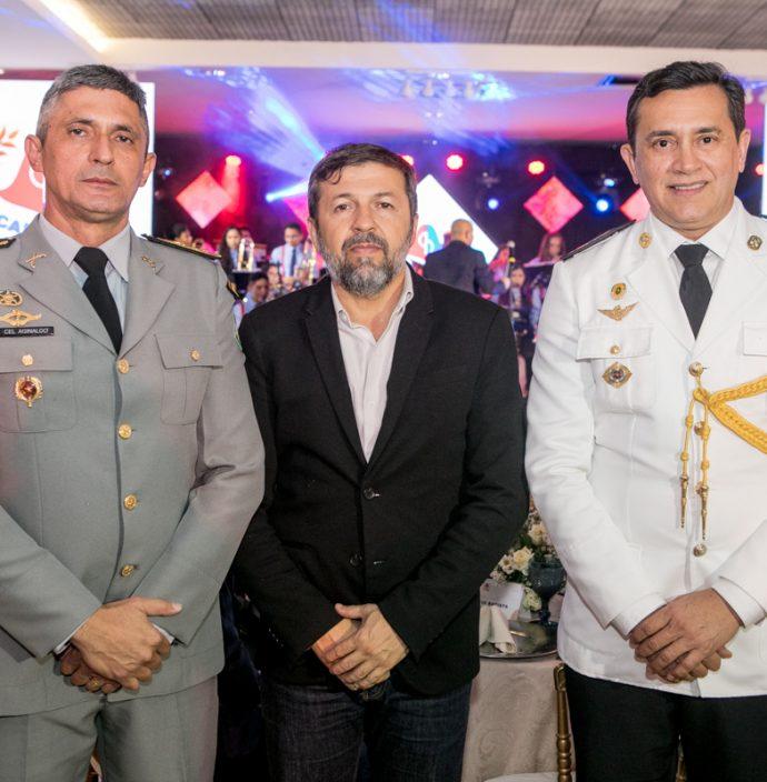 Cel Aginaldo, Elcio Batista E Cel Andrade Mendonça