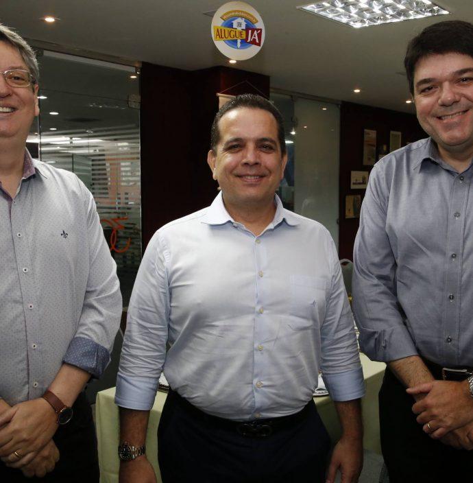 Celio Bezerra Melo, Germano Belchior E Raul Santos