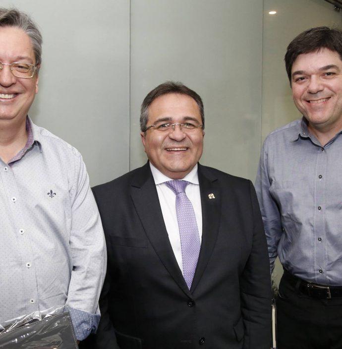 Celio Bezerra Melo, Romildo Rolim E Raul Santos