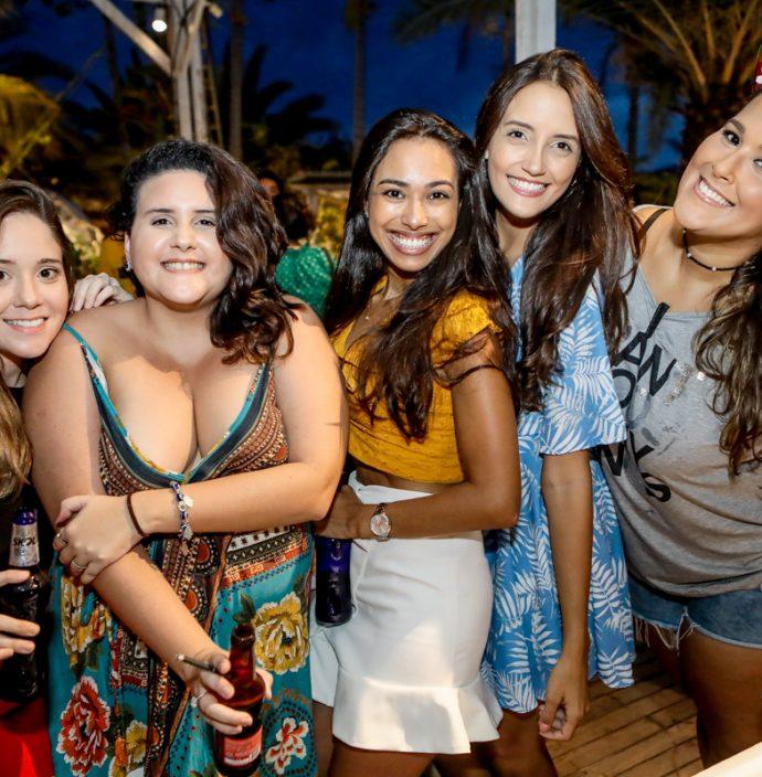 Cibele Linhares, Ligia Farias, Juliana Rodrigues, Barbara Farias E Natalia Pessoa