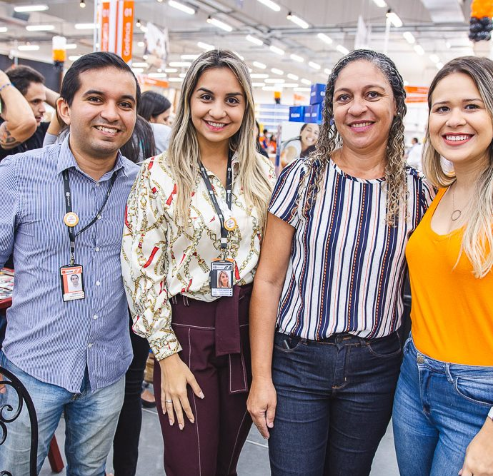 Claison Luiz, Ana Celia Cardoso, Marina Freire E Rebeca Araujo