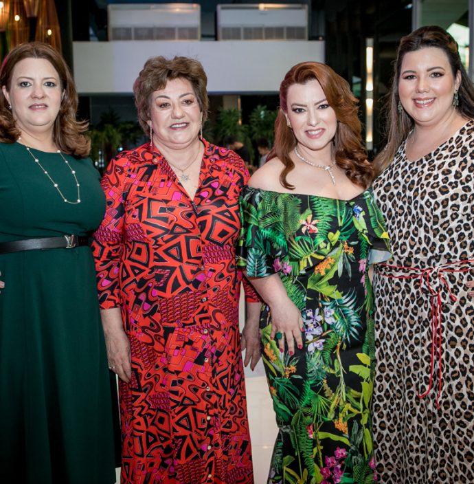 Claudia, Vera, Aline E Livia Felix