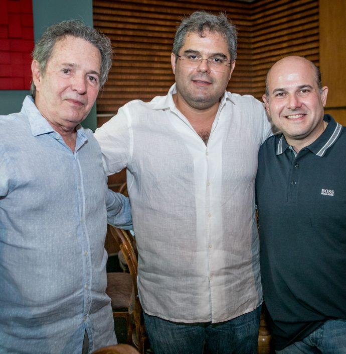 Claudio Rocha, Edson Queiroz Neto E Roberto Claudio