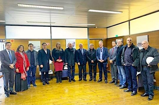 Ricardo Cavalcante e comitiva buscam novas oportunidades para a indústria cearense