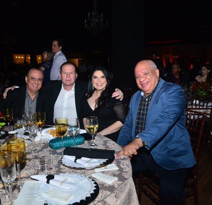 Max Câmara, Julio Ventura, Sellene e Pedro Alfredo