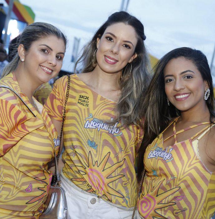 Cristiane Lima, Caroline Bastos E Fabricia Lima